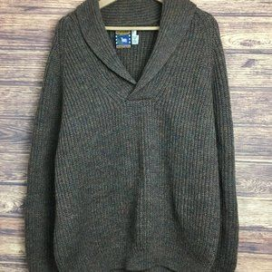 Great Northern Knitters Wool Grey Pullover Sweater